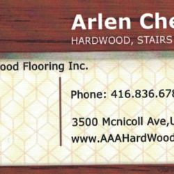 AAA Hard Wood Flooring Inc.