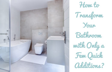 How to transform your bathroom with only a few quick additions