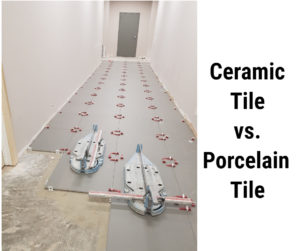 Ceramic Tile vs. Porcelain Tile