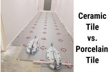 Ceramic Tile vs. Porcelain Tile