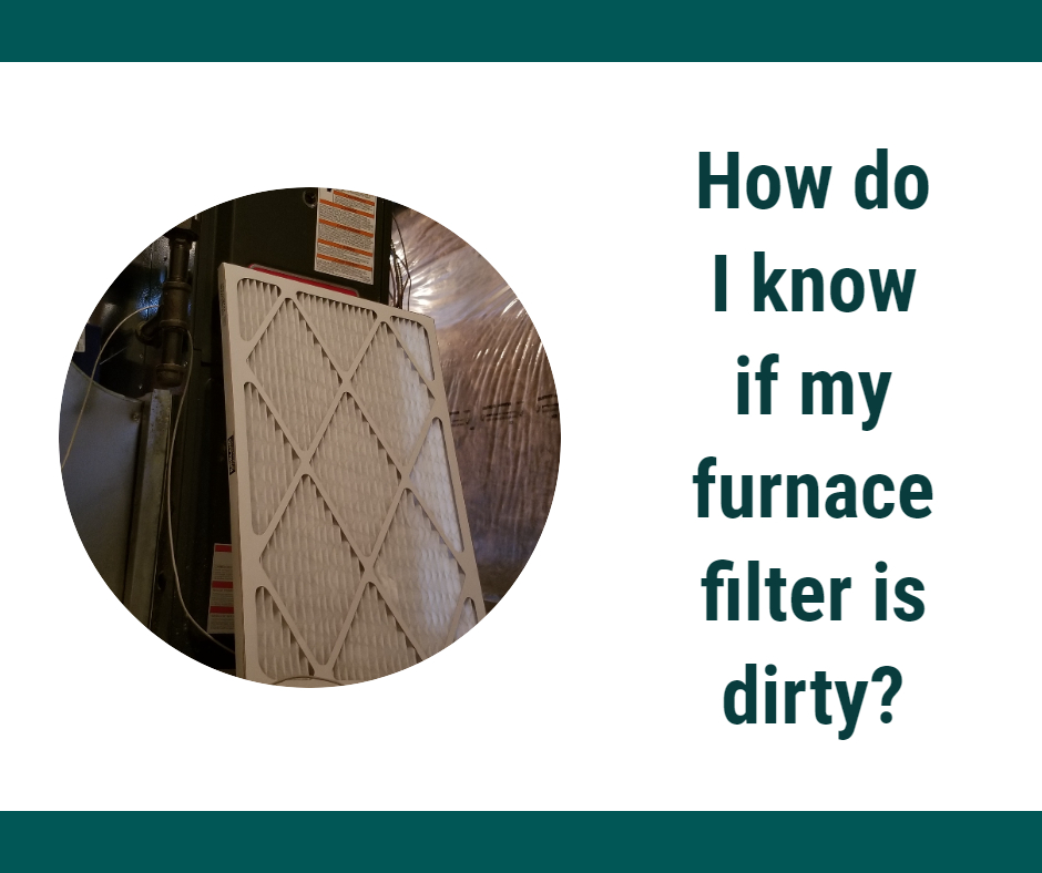change dirty furnace filter