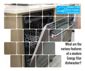 Features of modern energy star dishwasher