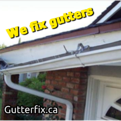 Gutter Fix Eavestrough Repairs And Cleaning