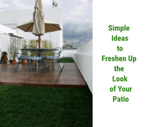 Simple Ideas to Freshen Up the Look of Your Patio