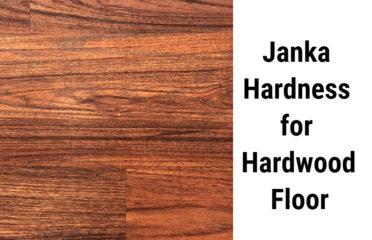 What is a good Janka hardness for hardwood floor?