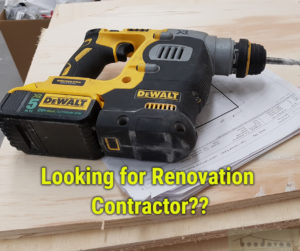 looking for a renovation contractor?