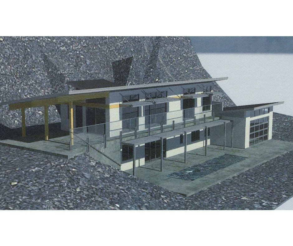 Structure designed with Revit by KH Designs
