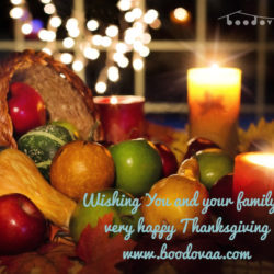 Happy Thanksgiving – from team boodovaa!