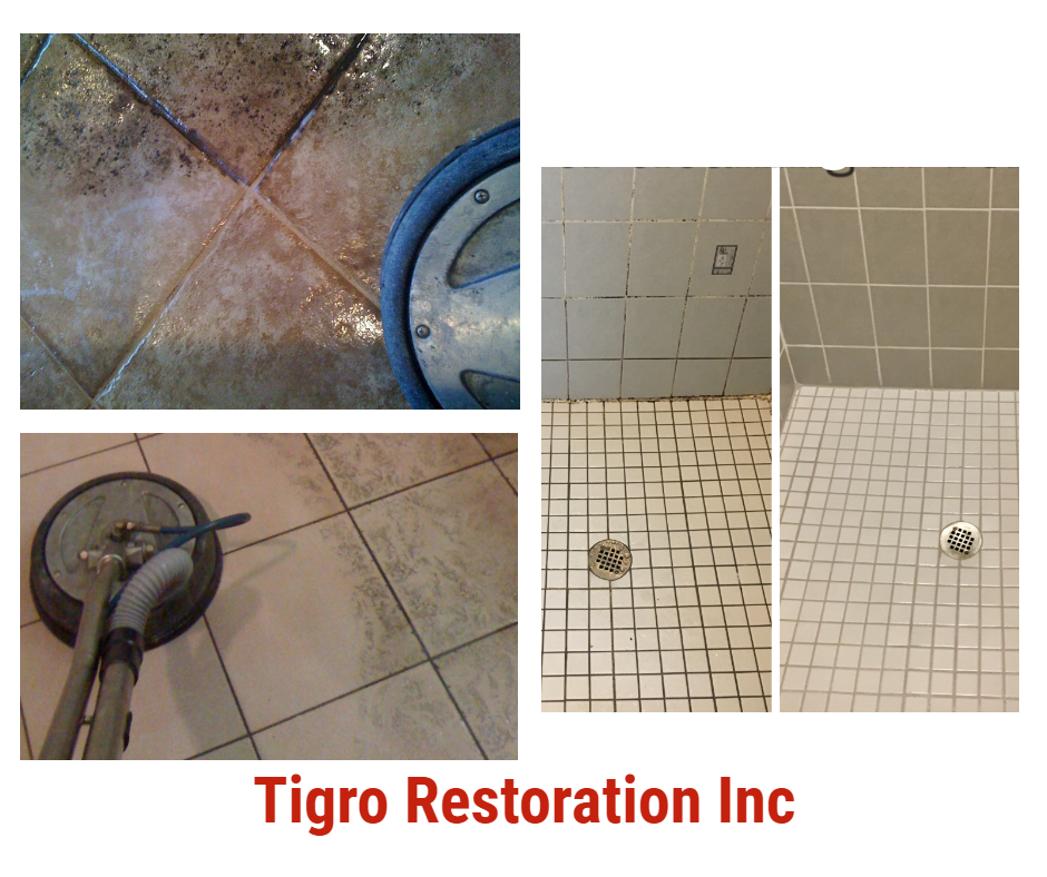 Tile and floor cleaning and restoration by Trigo Restoration
