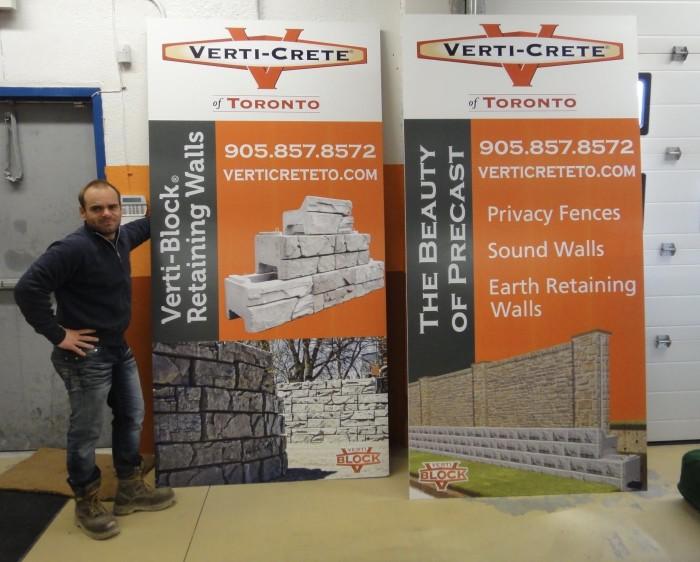 Verti-Crete of Toronto banner