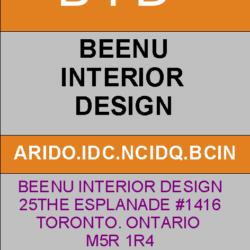 BEENU INTERIOR DESIGN