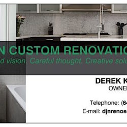 DJN CUSTOM RENOVATIONS