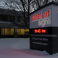 Steel Art Signs